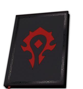 Muistikirjat World Of Warcraft - Horde