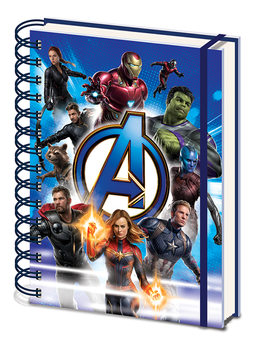 Avengers: Endgame - To Action Muistikirjat