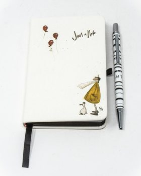Sam Toft - Just A Note A6 Muistikirjat