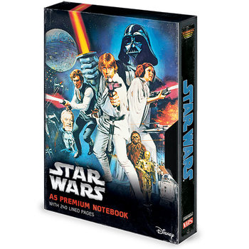 Star Wars - A New Hope VHS Muistikirjat