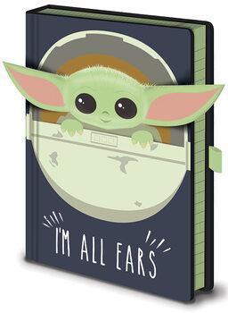 Star Wars: The Mandalorian - I'm All Ears Cribs Muistikirjat