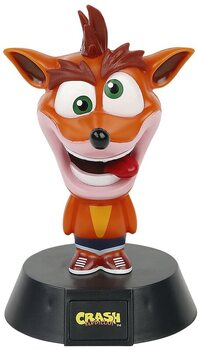 Säihkyvät hahmot Crash Bandicoot - Crash
