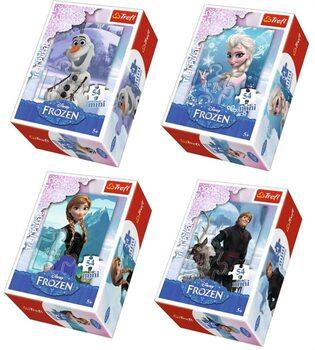 Puzzle Frozen: huurteinen seikkailu 4in1