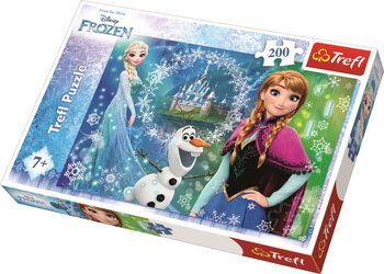 Puzzle Frozen: huurteinen seikkailu