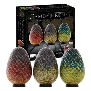 Puzzle Game of Thrones - Eggs Of Dragons (Viserion, Rhaegal, Drogon)