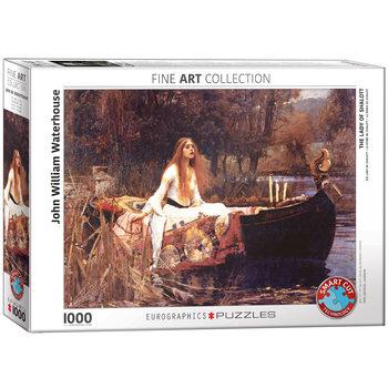 Puzzle John William Waterhouse - The Lady of Shalott