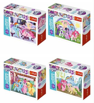 Puzzle My Little Pony 4in1