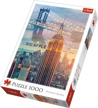 Puzzle New York at Dawn