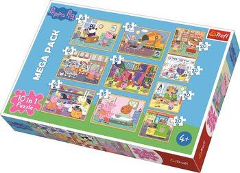 Puzzle Pipsa possu 10in1