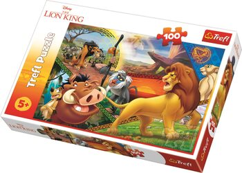 Puzzle The Lion King: Simba's Adventures