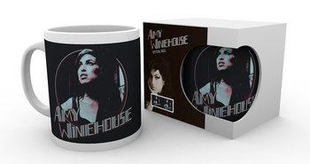 Amy Winehouse - Retro Badge Muki