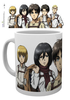 Attack on Titan (Shingeki no kyojin) - Lineup Muki