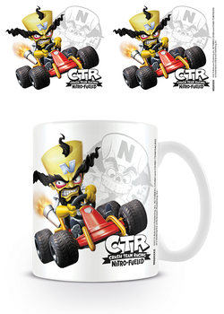 Crash Team Racing - Neo Cortex Emblem Muki