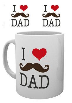 Isänpäivä - I Love Dad Muki