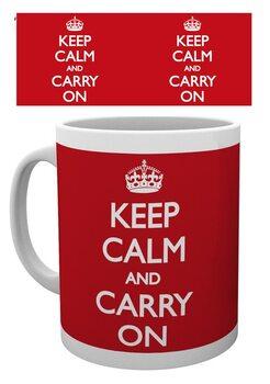Keep Calm And Carry On Muki
