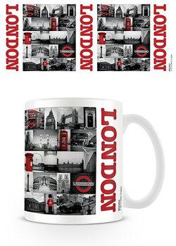 Muki Lontoo - Red collage