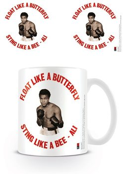 Muhammad Ali  - Float like a butterfly,sting like a bee - retro Muki