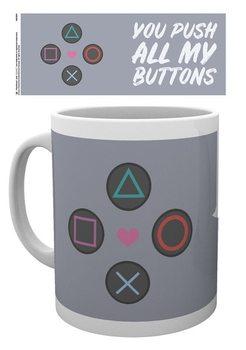 Playstation - Push my Buttons Muki
