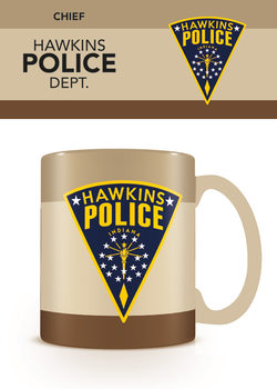 Stranger Things - Hawkins Police Muki