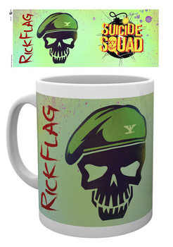 Suicide Squad - Flag Skull Muki