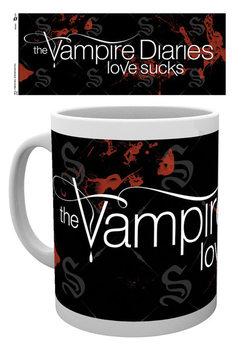 Vampyyripäiväkirjat - Logo Muki