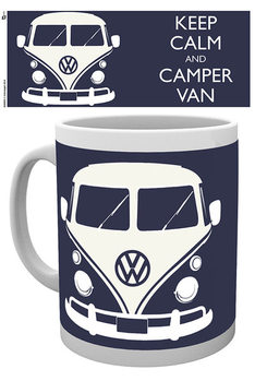 VW Volkswagen Camper - Keep Calm Muki