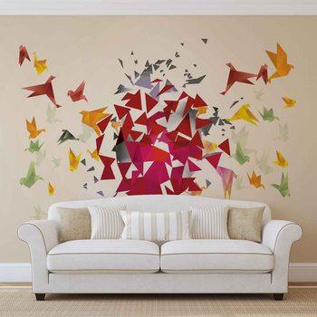 Murais de parede Abstrakcyjny obraz kolorowa eksplozja