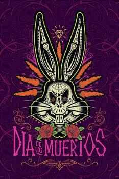 Murais de parede Bugs Bunny - Dia dos Mortos