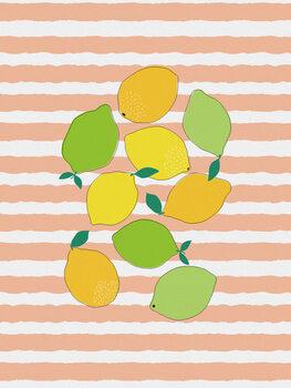 Murais de parede Citrus Crowd