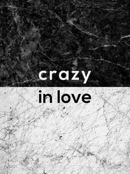 Murais de parede Crazy In Love Quote