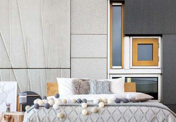 Murais de parede Facade Geometry
