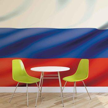 Murais de parede Flaga Rosji
