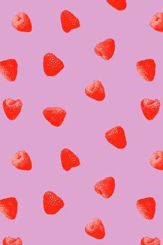 Murais de parede Raspberry heaven