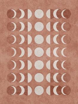Murais de parede Somon Moonphase 02