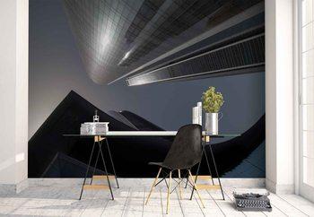 Murais de parede The Rhythm Of Glass And Concrete