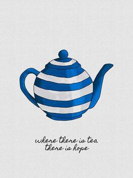 Murais de parede Where There Is Tea