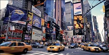 New York - Times Square Reproduction d'art