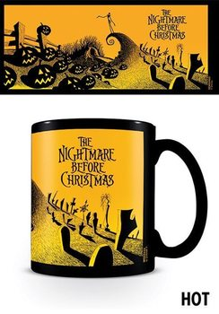 Caneca Nightmare Before Christmas - Graveyard Scene