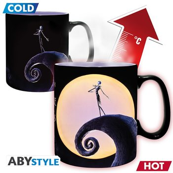Caneca Nightmare Before Christmas - Jack & Moon