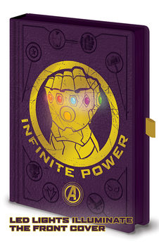 Notebook Avengers: Infinity War - Gauntlet LED