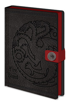 Notebook Game Of Thrones - Targaryen