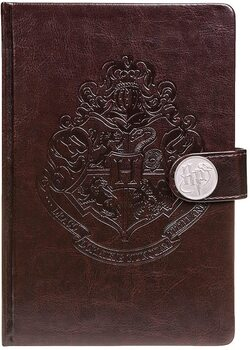 Notebook Harry Potter - Hogwarts Crest / Clasp Premium