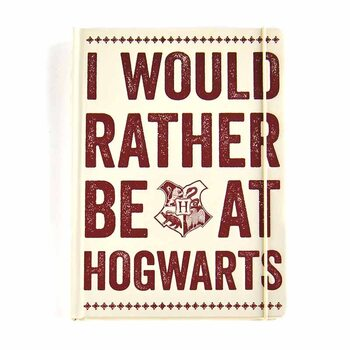 Notebook Harry Potter - Hogwarts Slogan