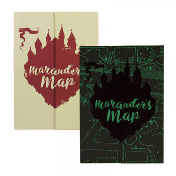 Notebook Harry Potter - Mauraders Map A5