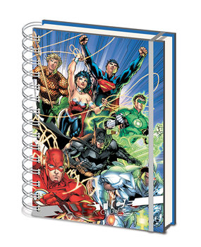 Notebook Justice League - United