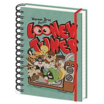 Notebook Looney Tunes - Retro TV