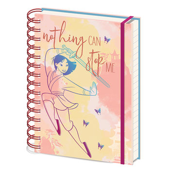 Notebook Mulan - Nothing Can Stop Me