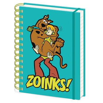 Notebook Scooby Doo - Zoinks