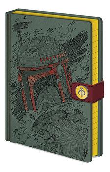 Notebook Star Wars - Boba Fett Art