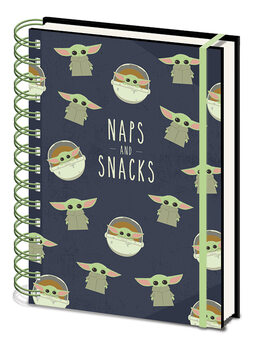 Notebook Star Wars: The Mandalorian - Snacks and Naps